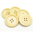 Cream Painted 40 mm x 3 Buttons