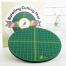 "Self Healing Rotating Cutting Mat (Round 15"" 38 cms) 4 Sewing Buddies Australia"
