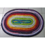 """Oblong Rug for the Buddies Easy 2 1/2"""" Strip Rug Pattern"""