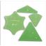 Curved Star Hexagon Patchwork Template - Meredithe Clark 4 Sewing Buddies Australia