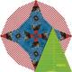 "8"" Kaleidoscope Patchwork Template - Matilda's Own - Sewing Buddies Australia"