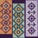 The Cactus Flower Table Runner Pattern