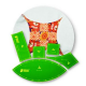 Curved 9 Patch Patchwork Template ~ Matilda's Own