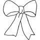 Pretty Bow #30360 by Full Line Stencils