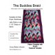 Buddies Braid 2 1/2 Inch Strip Fabric Pattern a.k.a. Jelly Roll Pattern
