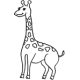 Giraffe small #30378 by Full Line Stencils
