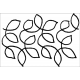 Large Meandering Leaves #30462 by Full Line Stencils