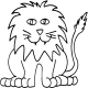 Lion lge #30401 by Full Line Stencils