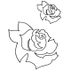 Rose 30431 by Full Line Stencils