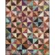 Split Log Cabin Quilt Pattern