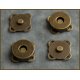 Antique Brass Magnetic Closure for Bags