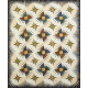 Rocky Mountain Bear Claw Quilt by Judy Niemeyer Quilt Completed