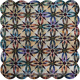 Bali Wedding Star Quilt Colour 2