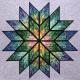 Prismatic Star Quilt by Judy Niemeyer