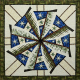 Weathered Windmill Quilt Pattern by Judy Niemeyer