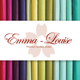 Emma Louise Premium Cotton Muslin - Holiday Red