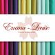 Emma Louise Premium Cotton Muslin - Iris
