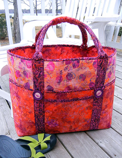 Big Sebago Tote Bag by Aunties Two Patterns
