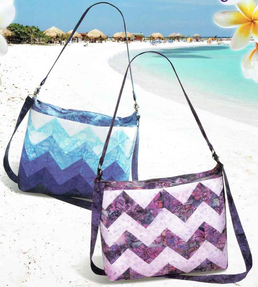 Aruba Bag by Pink Sand Beach Designs ~ Jelly Roll Friendly