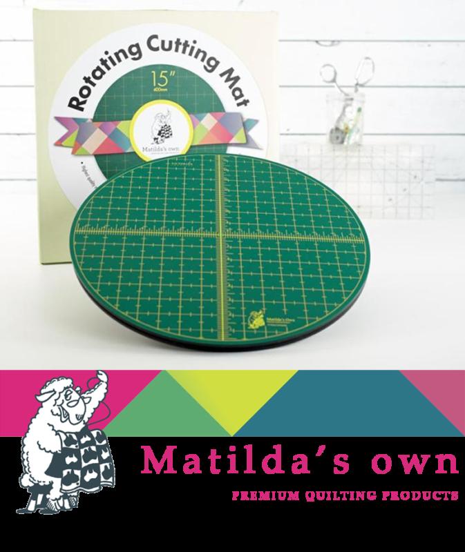 Matilda S Own Rotating Cutting Mat Tutorials